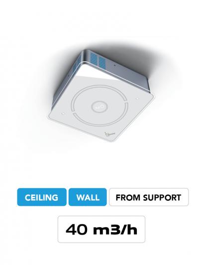 Ceiling air purifier AirO Ceiling Cappe Baraldi Milan